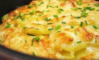 Картошка в духовке,