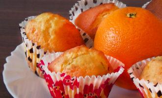 Апельсиновые маффины. Выпечка