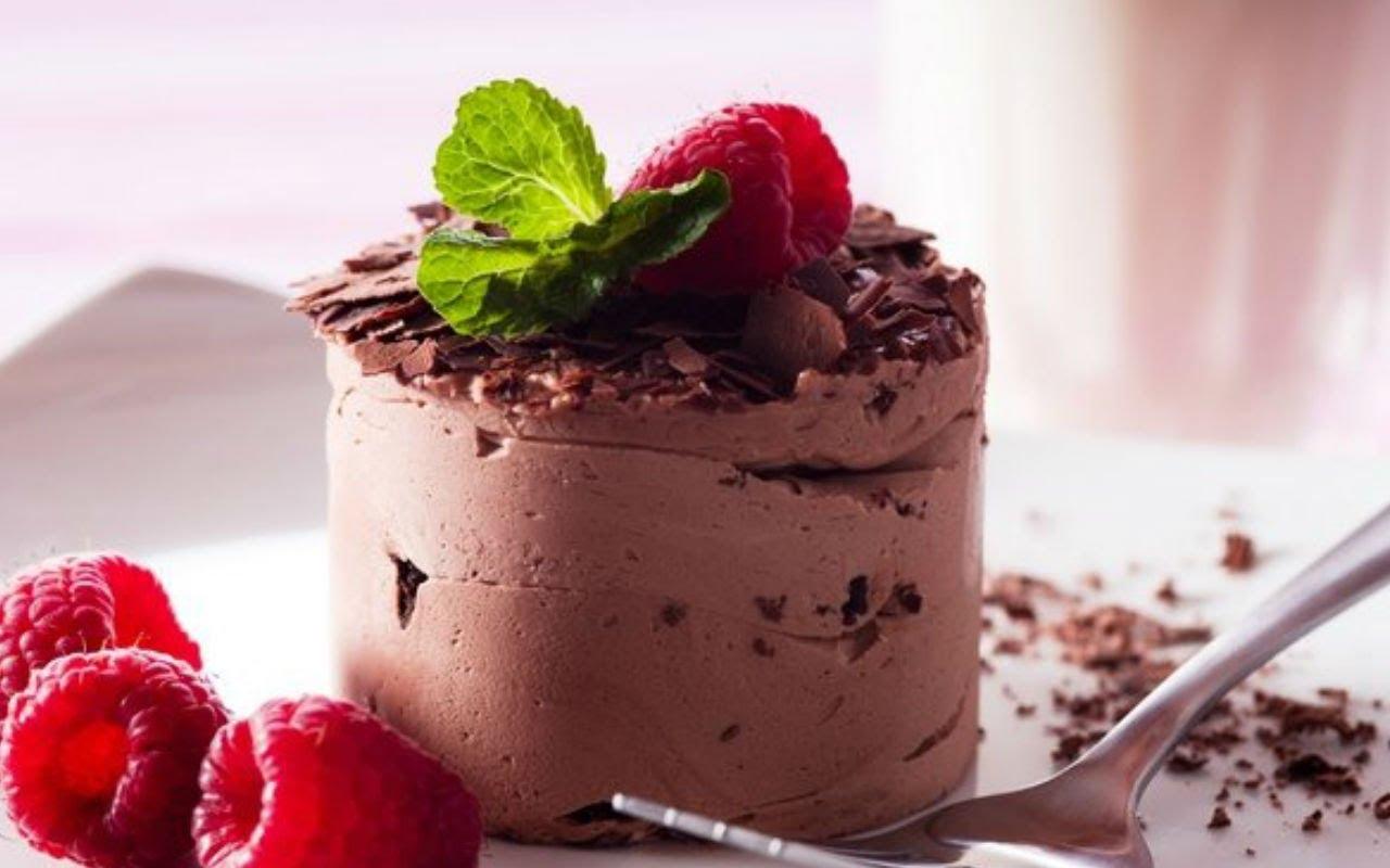 шоколадный мусс. Десерты