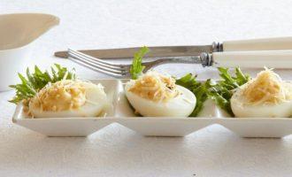 фаршированные яйца. 20 самых вкусных вариантов