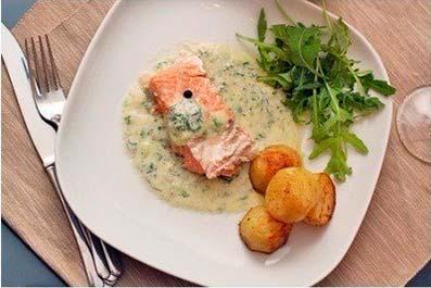 Сливочно – горчичный соус – идеален для рыбы