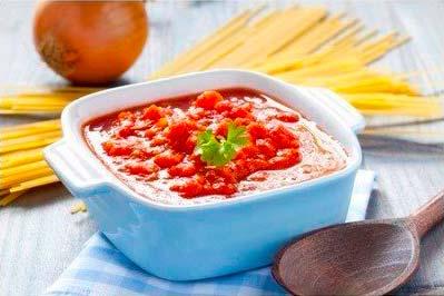 Томатный соус из Италии – лучшая приправа к пасте и пицце