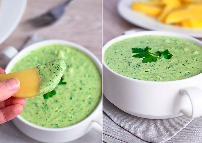 Зеленый соус