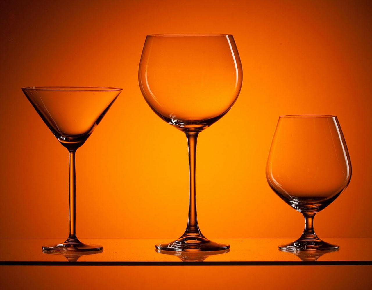 Бокалы для разных типов вин