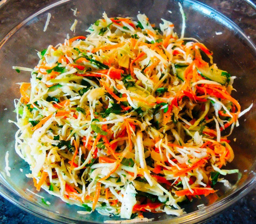 Салат из моркови правильное питание