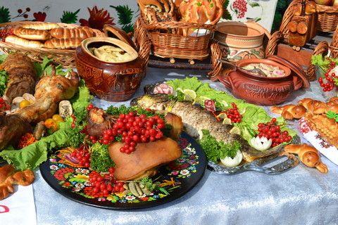 история кулинарии в Росии